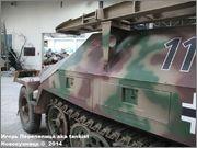 Немецкий средний бронетранспортер SdKfz 251/7  Ausf D,  Musee des Blindes, Saumur, France 251_7_Saumur_039