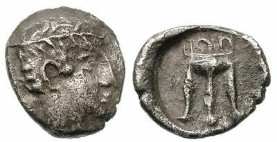 Tetróbolo de Zakynthos (Zante). 456 - 405 a. C. 313181_m