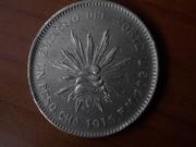 1 Peso , 1.915 del Ejército del Norte de Pancho Villa , Méjico DSCN0931