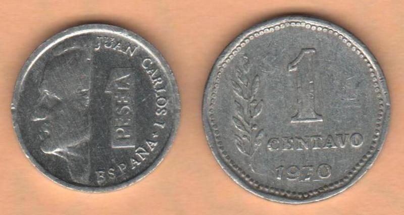 1 Peseta 1996 Juan carlos I- LA PESETILLA o LENTEJA AAAPESETA_Y_UN_CENTAVO_1970