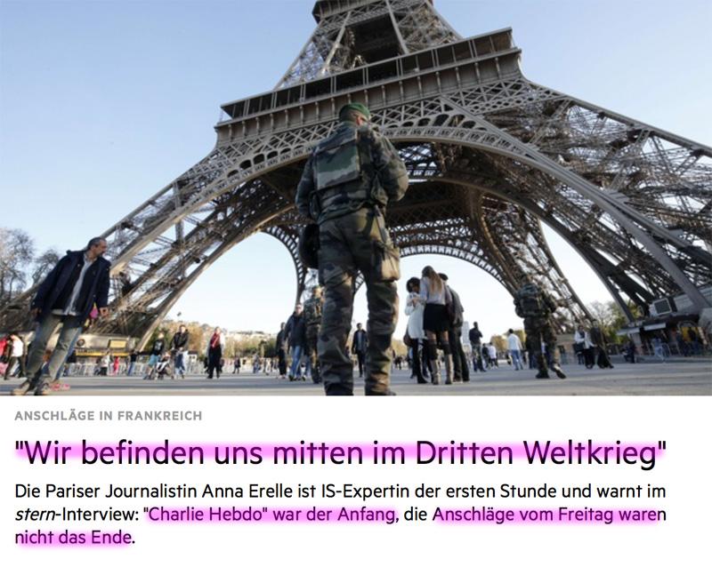 Explosion und Schießerei in Paris! - Seite 2 Ende