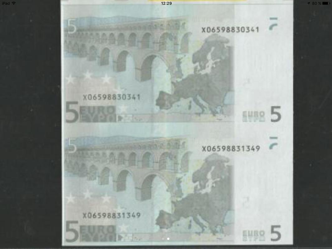 Duda con billetes de 5 euros correlativos IMG_0572