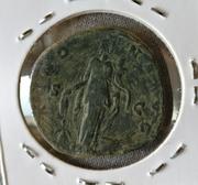 Sestercio de Antonino Pío. ANNONA AVG - S C. Annona estante a dcha. Ceca Roma. IMG_20170424_123335_01