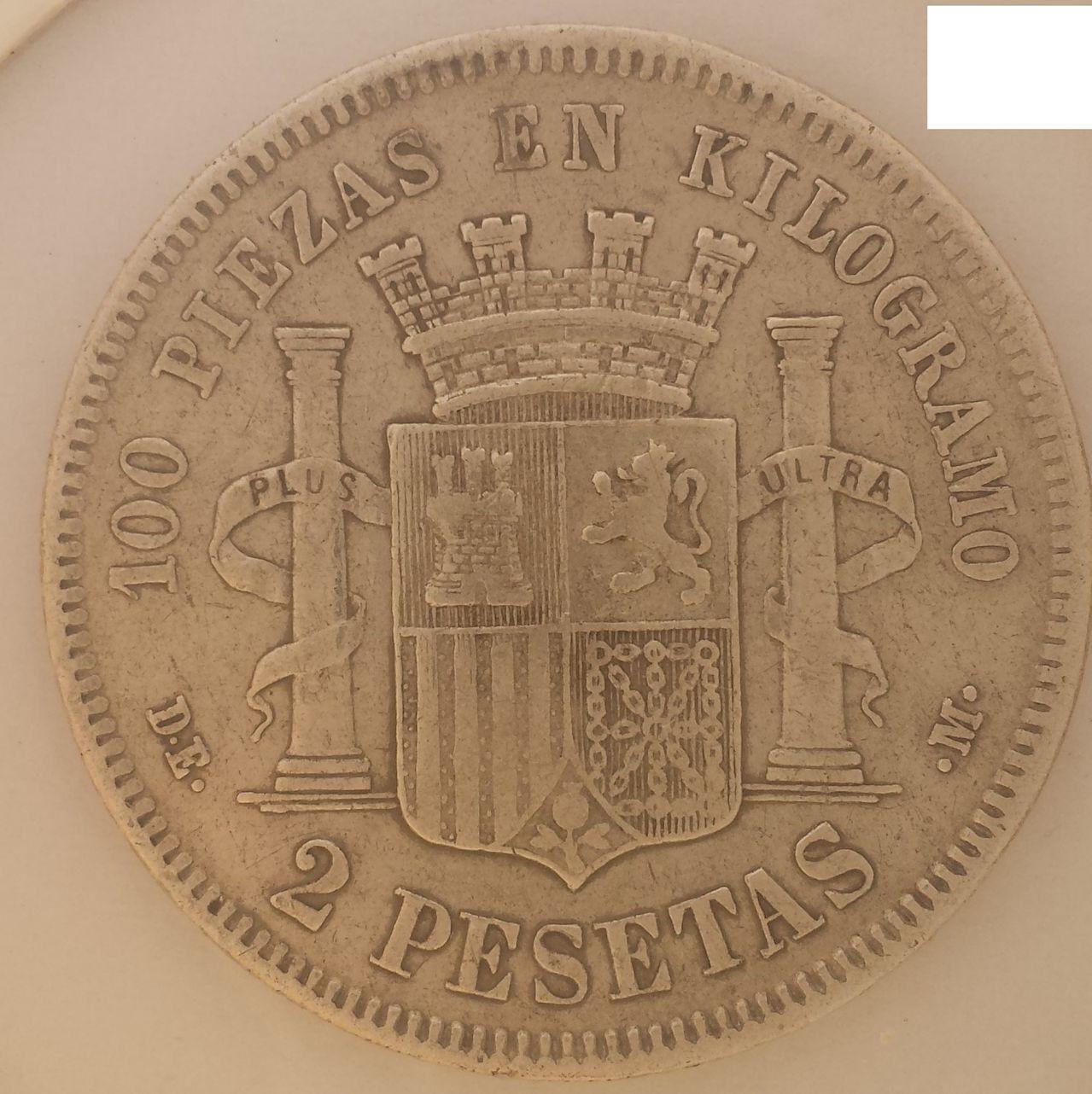 2 pesetas 1870 (18-74) 2pesetas1870_74_b