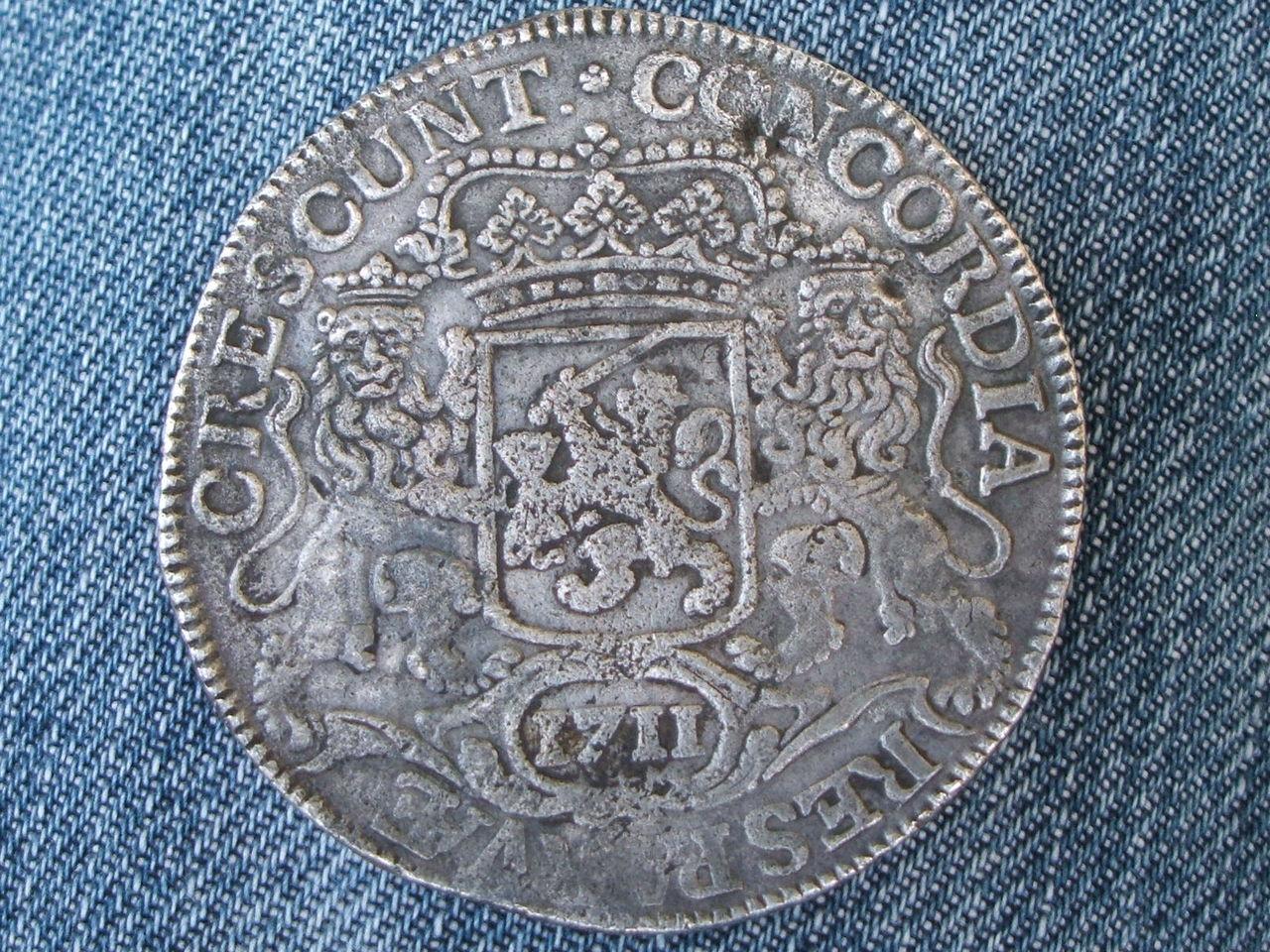 1 Ducaton. Holanda. 1711. Utrecht  31_60_gramos_diametro_38_15