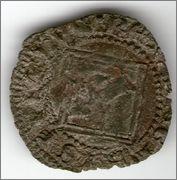 Dinero de Pedro I de Castilla 1350-1368 Sevilla. Smg_667b
