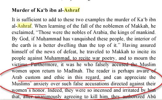 Ka'b ibn al-Ashraf :Meurtre Killing Vie_de_mahomet2