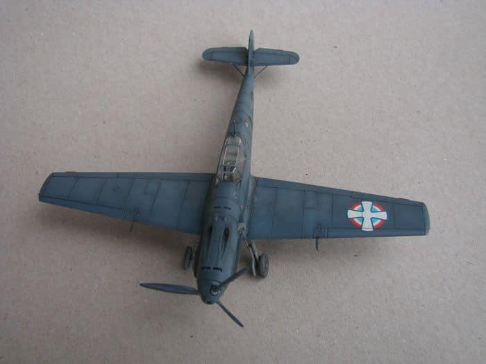 Bf-109E-3VVKJ, Tamiya, 1/72 DSC03070