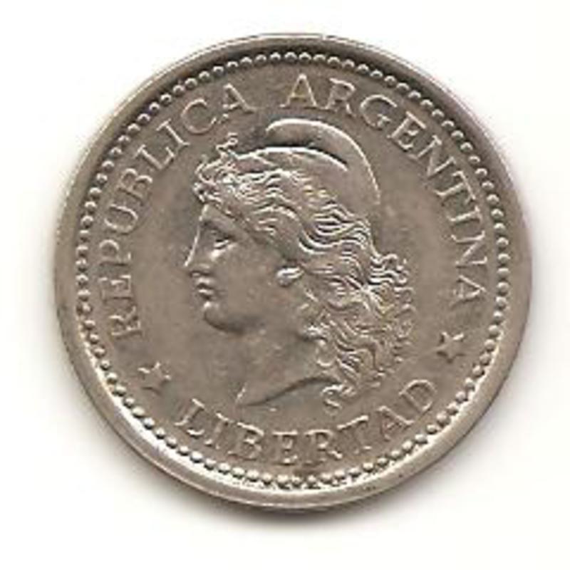 1 peso de 1958 de Argentina Image