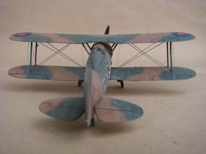 Gloster Gladiator Mk.I, Matchbox/Revell, 1/72 DSC03054