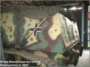 """Немецкая 15,0 см САУ """"Hummel"""" Sd.Kfz. 165,  Deutsches Panzermuseum, Munster, Deutschland Hummel_Munster_057"""