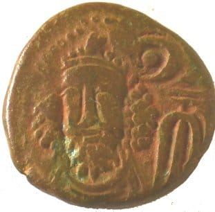 Dracma de Orodes III. Elymaida 215