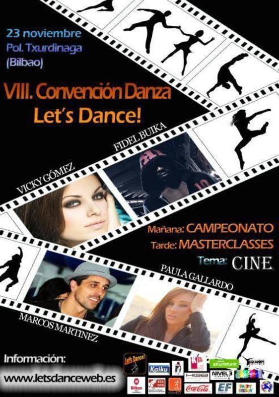 VIII. CONVENCIÓN LET'S DANCE!!! Cartel_gral