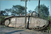 Камуфляж французских танков B1  и B1 bis Char_B_1_bis_109_1_Vendee_II