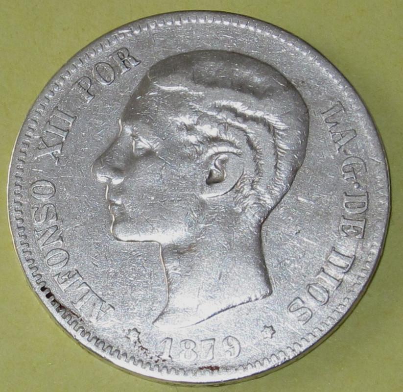 Duros de Plata de Alfonso XII 1879