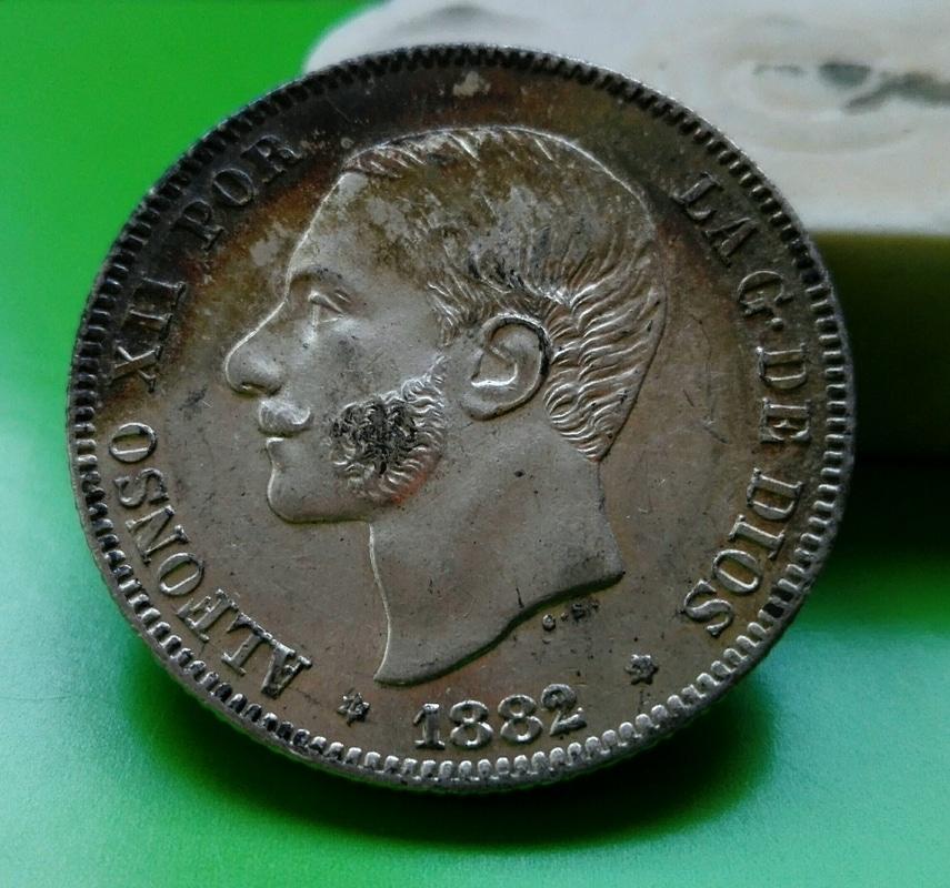 2 pesetas 1882. Alfonso XII IMG_20161208_153309