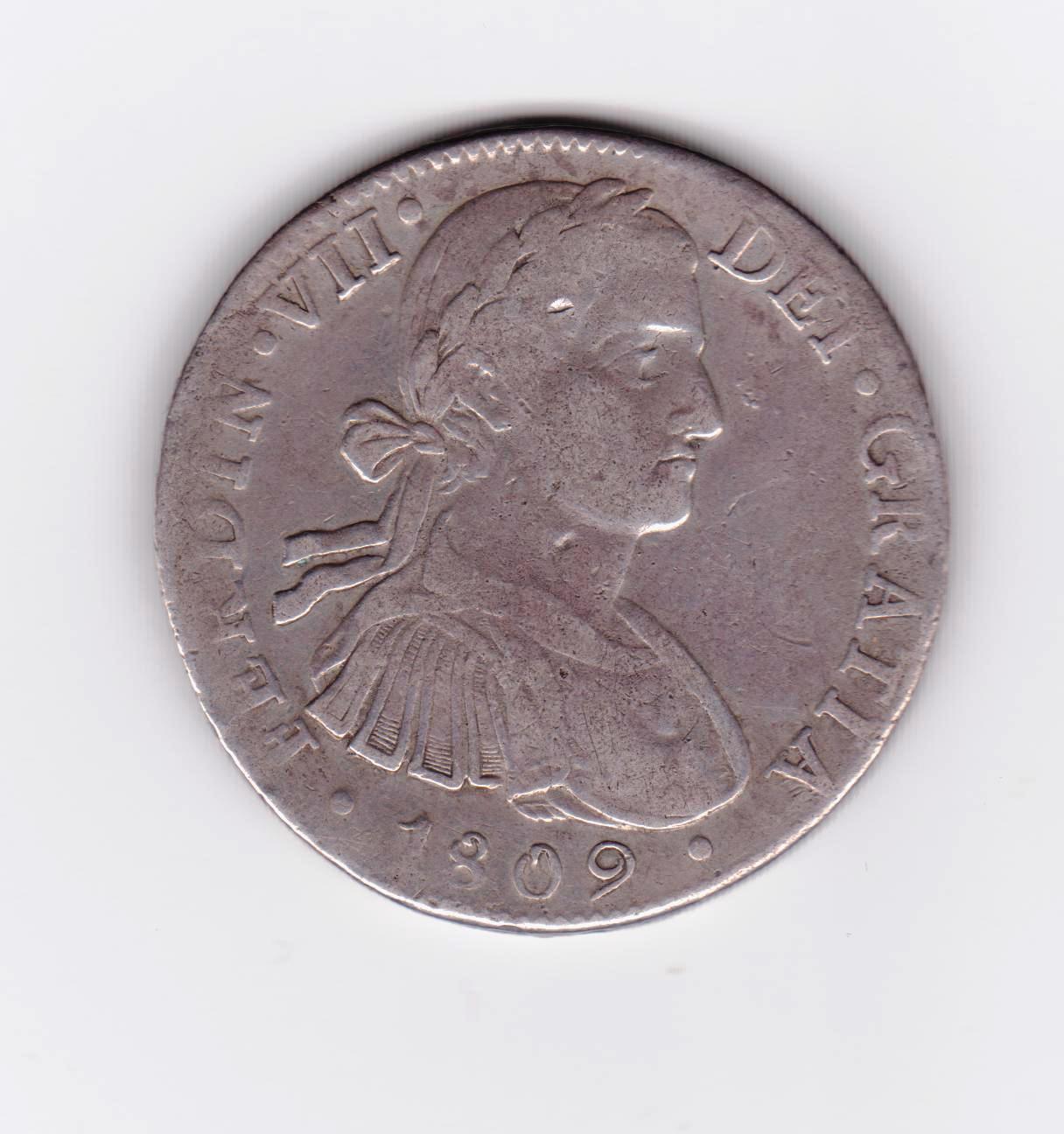 8 reales 1809 Fernando VII, Méjico 8_reales_1809