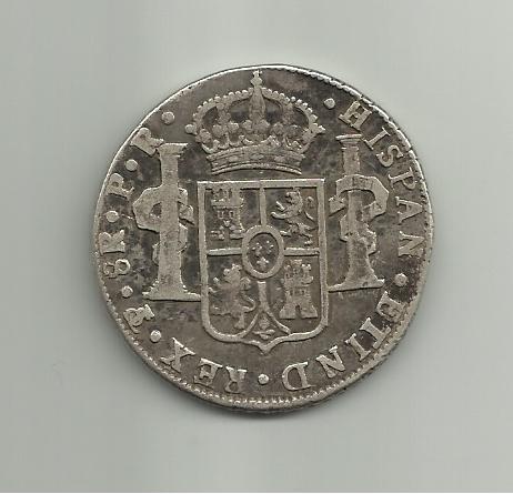 8 reales Carlos III 1785 Potosí 8_reales_1785_carlos_III_potosi_rever