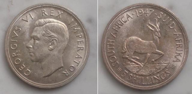 5 Schillings 1952 de Sudáfrica (keko dedit) 005ch1947sudafrica