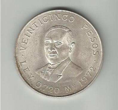 25 Pesos mejicanos Benito Juarez 1972 25_pesos_juarez_1972_anv