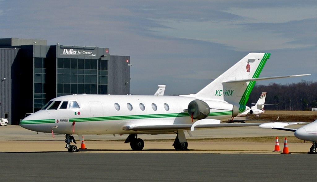 Aeronaves  Matriculas  XC-  ( Por Estados) Dassault_falcon_20_creo_que_la_marticul_es_XC_HI