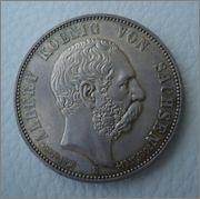 5 Marcos 1902 E, Rey Albert de Sachsen Image