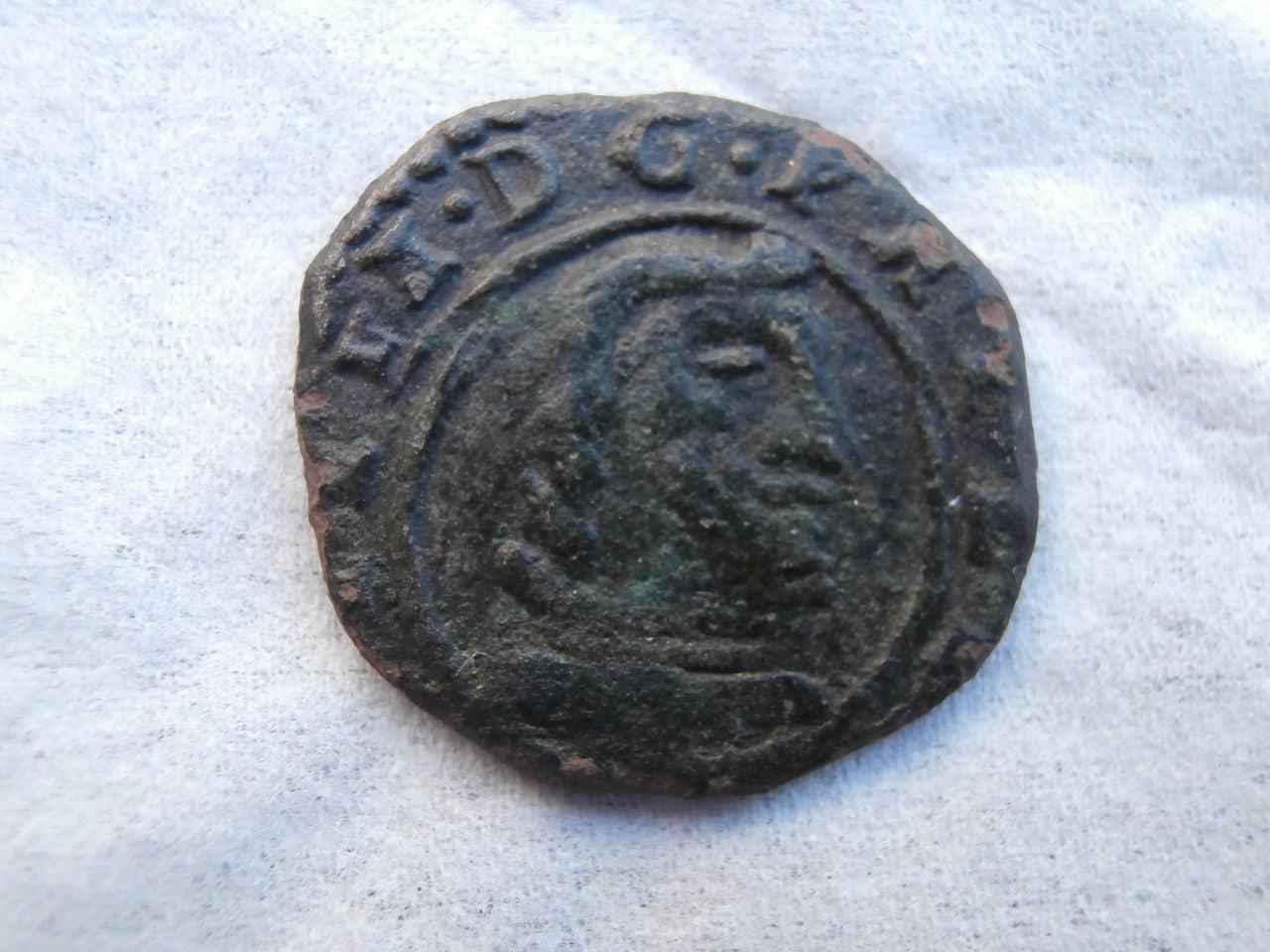 8 maravedís de 1661 Felipe IV, Burgos P3220305