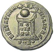 Glosario de monedas romanas. BEATA TRANQVILLITAS. Image