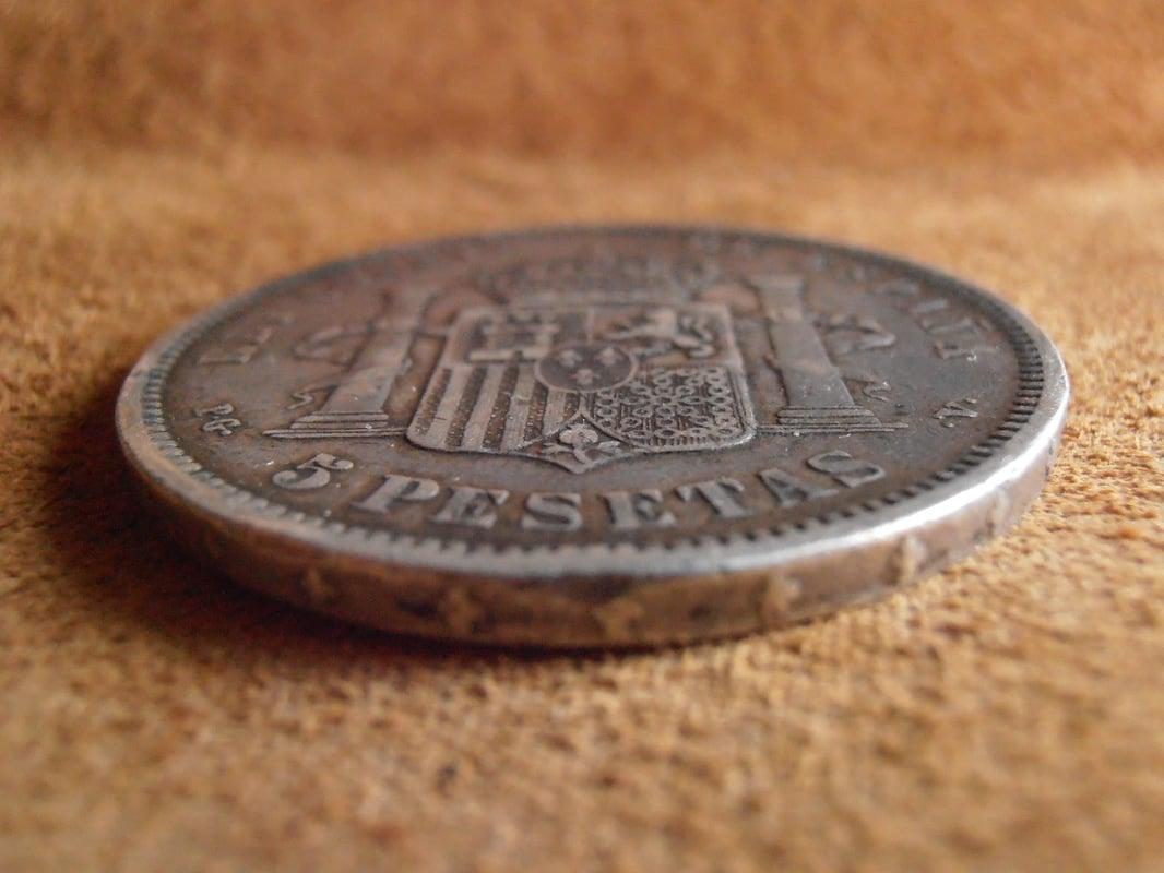 5 Pesetas 1893. Alfonso XIII. PGV P2258607