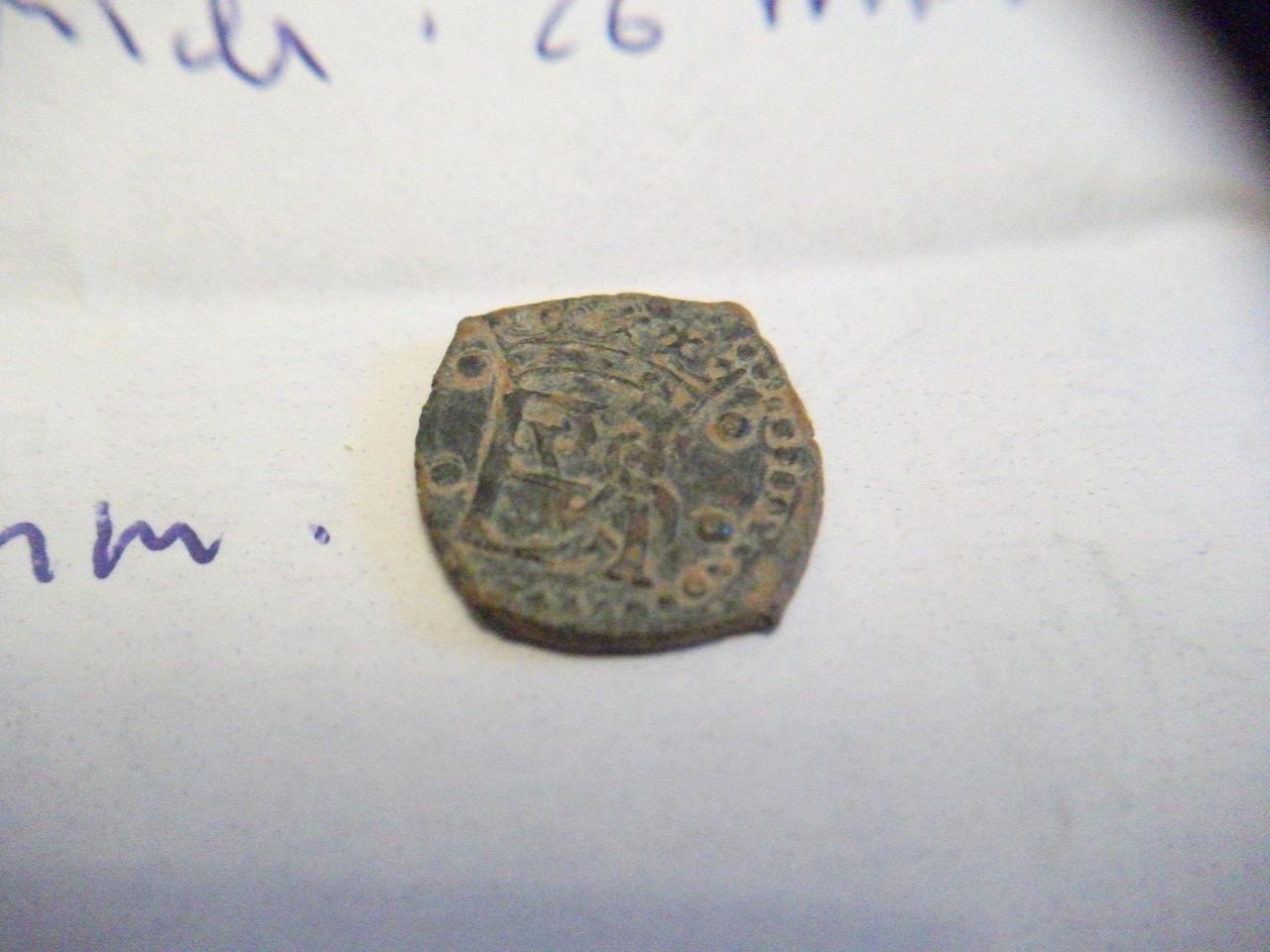 Blanca de Felipe II, de la ceca Burgos. DSCF2066