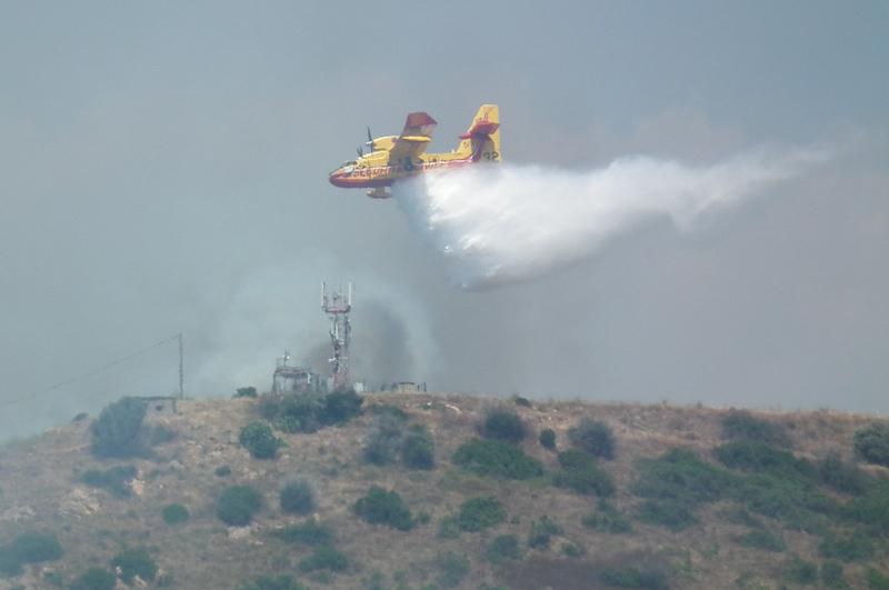 1er feu de l'année sur Ajaccio Image