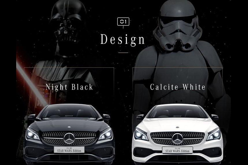 Que a força esteja com os Japoneses Mercedes-_Benz-_CLA-18-_Star-_Wars-_Edition-4