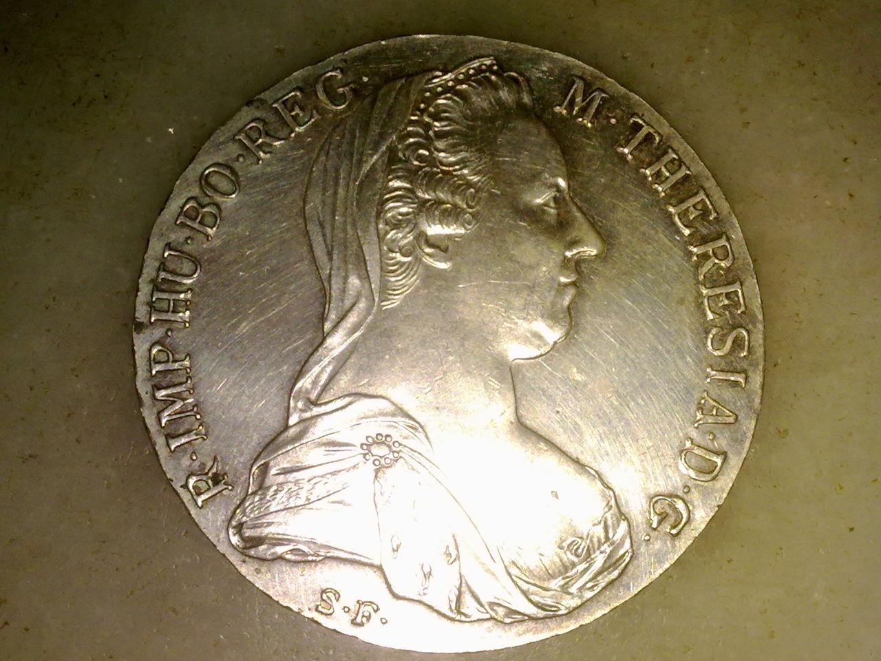 1 Thaler de Maria Teresa. Austria. 1780. Reacuñación.  M_teresa_002