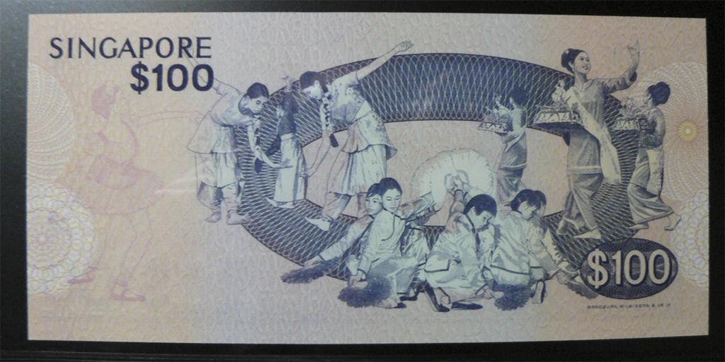 500 Dólares Singapur, 1977 Sgp100br