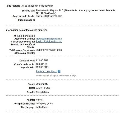 Casas de Apuestas Españolas - Invierte tus Ganancias de Ptc Y Aumenta Tu Dinero. Bwin290413