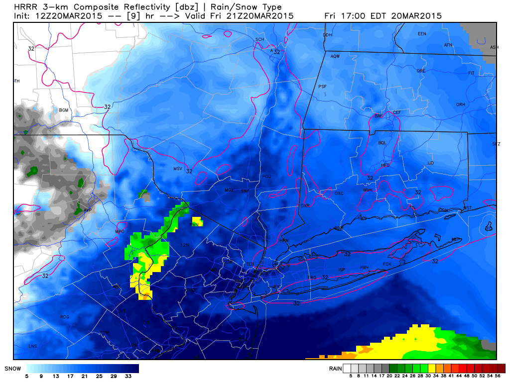 3/20 Spring Snowstorm Observations / Final Call Snow Map - Page 3 Hrrr_ref_nyc_10