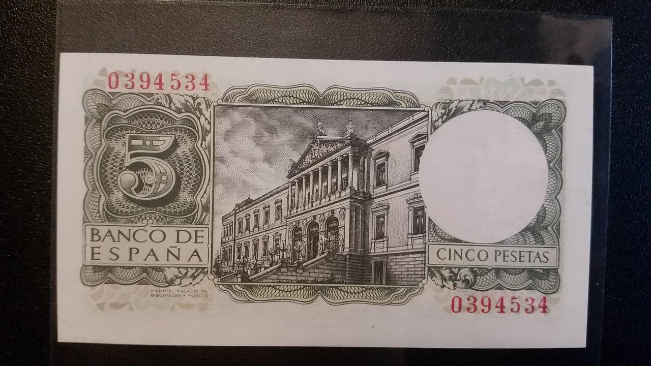 Colección de billetes españoles, sin serie o serie A de Sefcor pendientes de graduar 20161217_123236