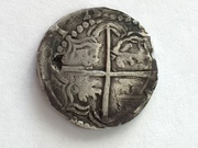 2 reales tipo macuquino Felipe III ceca de Potosí. IMG_4704