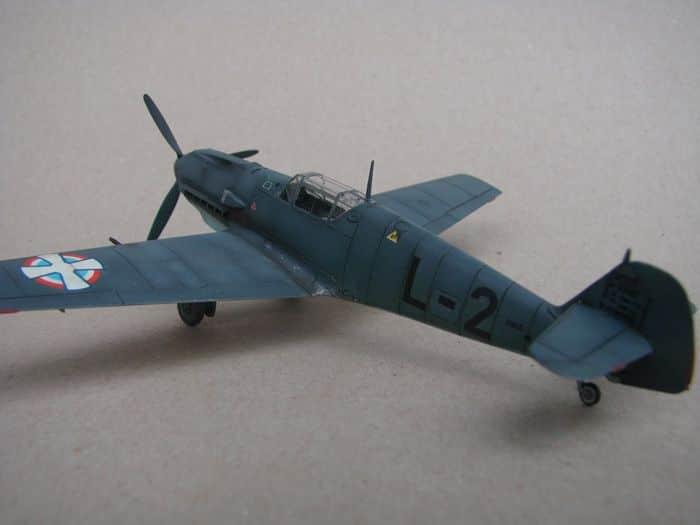 Bf-109E-3VVKJ, Tamiya, 1/72 DSC03067