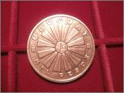 1000 pesos Uruguay 1969 en bronze P3180399