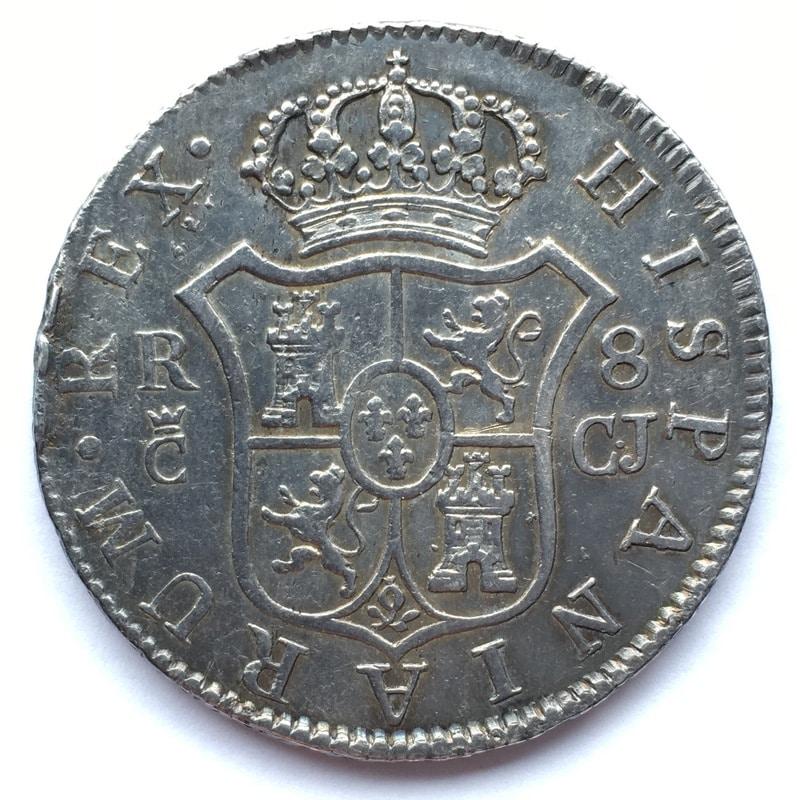 8 reales 1813. Fernando VII. Cádiz. El busto de Sagau. IMG_8745