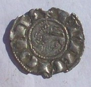 Dinero de pepion de Fernando IV de Castilla 1295-1312 Burgos  102_3911