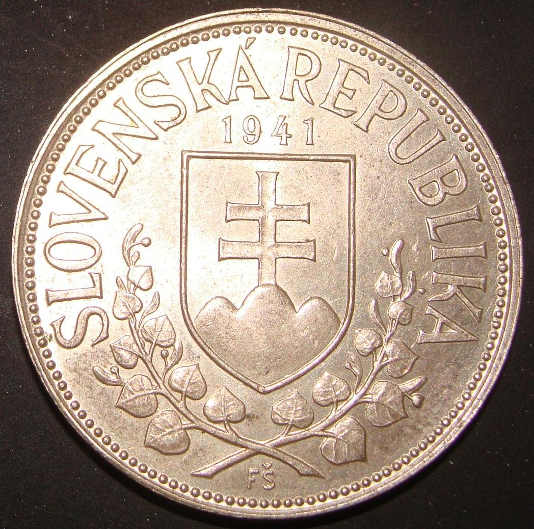 20 Coronas. Eslovaquia (1941) SVK_20_Coronas_1941_anv