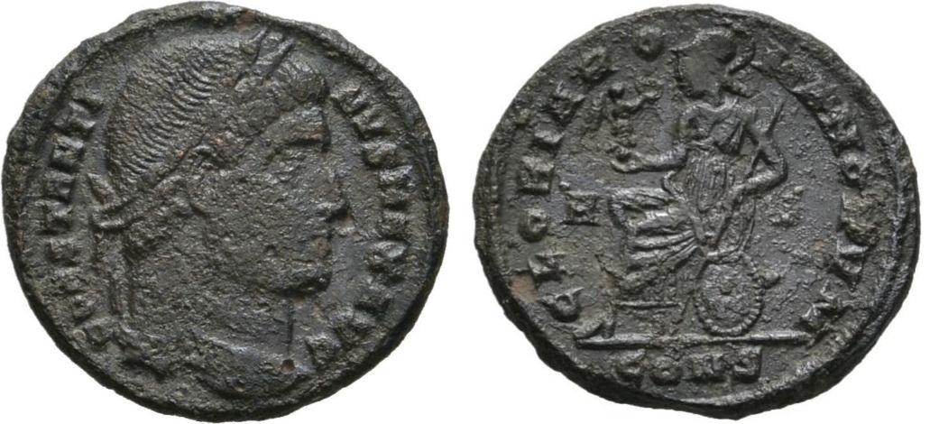 AE3 de Constantino I.  Cons_i_romae