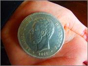 AMADEO I REY DE ESPAÑA 1871 - esta si ?? P2290035