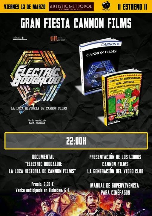 Electric Boogaloo (Electric Boogaloo: La loca historia de Cannon Films) 2015 Artistic_metropol_gran_fiesta_canon_films
