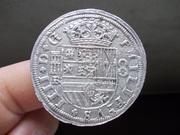 8 Reales 1660 Segovia , Felipe IV DSCN0694