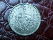 20 CENTAVOS DE CUBA 1920 P1040407