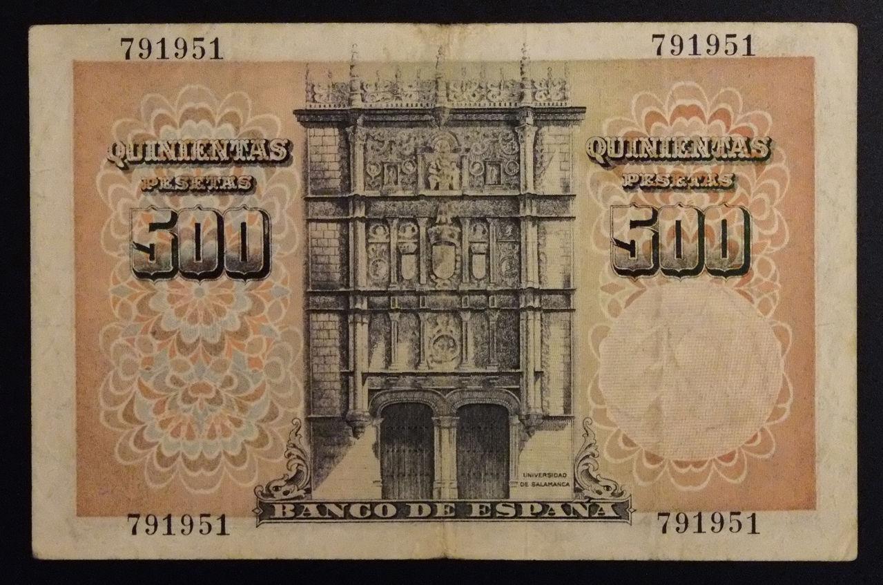 5 Pesetas 1947 (Séneca) 500_46_B