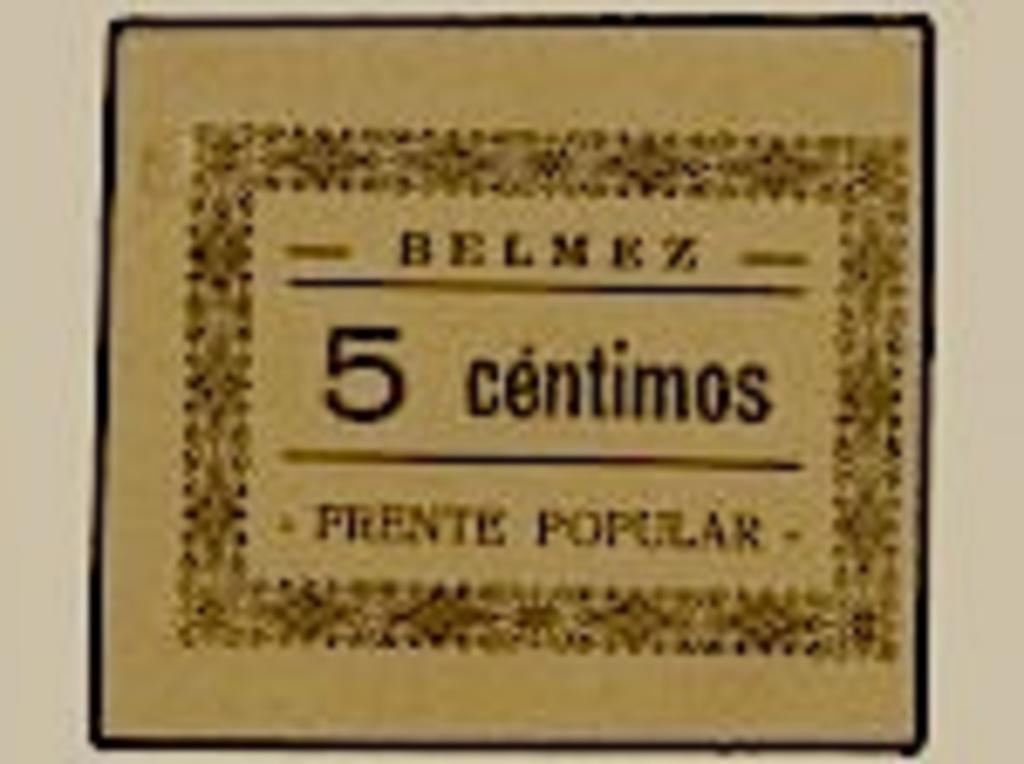 Duda sobre emisión de billete de necesidad Belmez